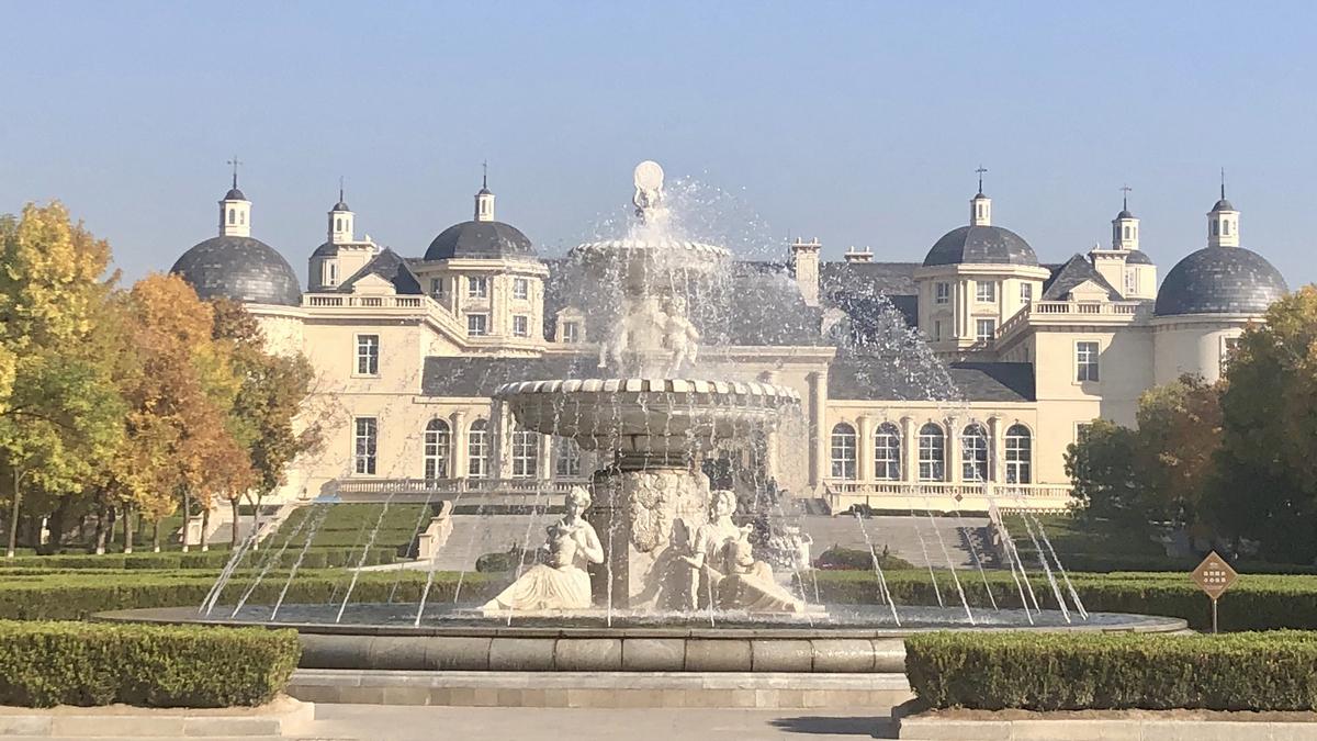 Il castello Chateau Changyu Moser