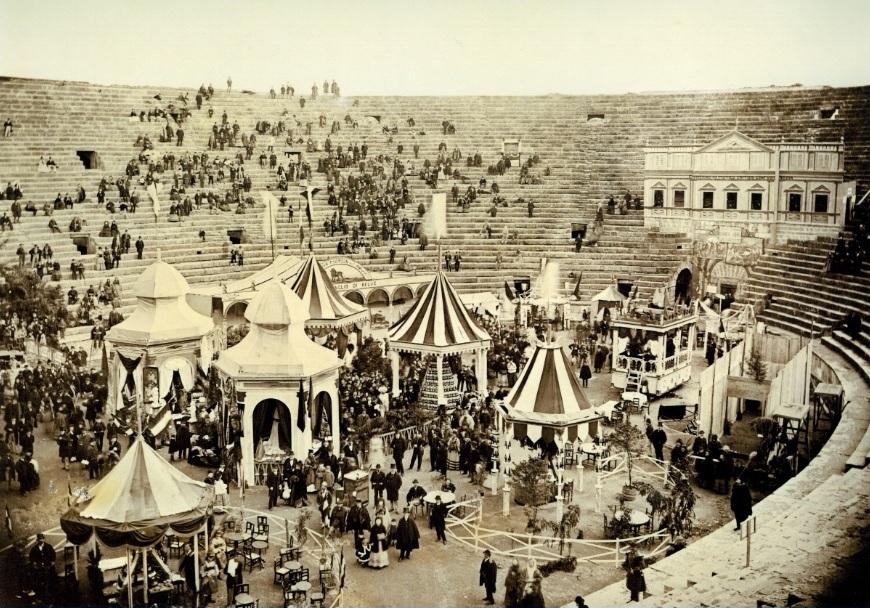Fiera vino a Verona nel 1867
