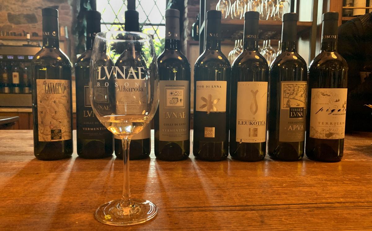 Degustazione vini bianchi Ca Lunae