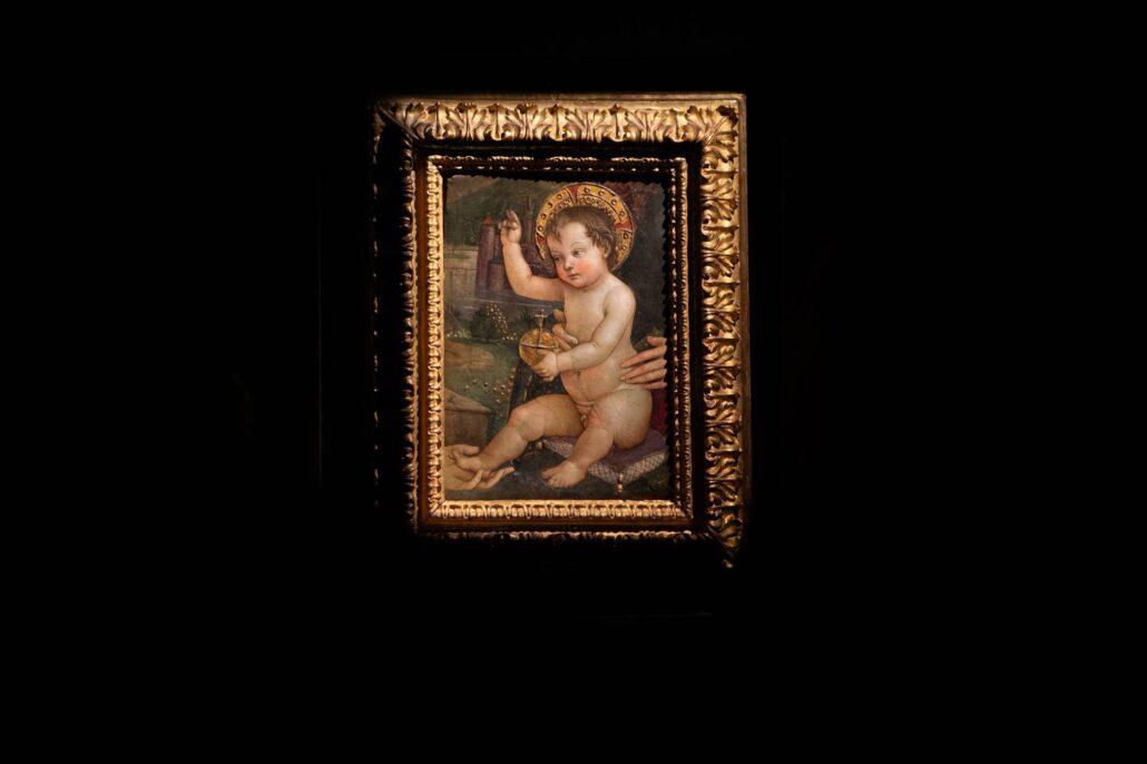 Opera del Pinturicchio conservata dalla Fondazione Listone Giordano